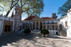 April 3rd, 2017, Coimbra, Portugal - Portugal DOS Pequenitos parkerar Arkivfoton