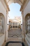 April 3rd, 2017, Coimbra, Portugal - Portugal DOS Pequenitos parkerar Royaltyfria Bilder