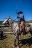 APRIL 22, 2017, RIDGWAY COLORADO: Cowboys  Stock Image