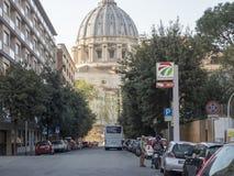 19 april 2018, Rome, via allaen Stazione, St, peterskupol av Vatic Arkivbilder