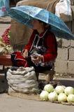 Vendors at the Samarkand market. 16 april 2007-samarcanda-uzbekistan-Vendors at the Samarkand market Stock Photos