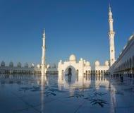 April 2017: Sheikh Zayed Mosque in Abu Dhabi Stock Fotografie