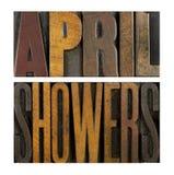 April Showers Royaltyfria Foton