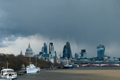 April Showers over London Royalty Free Stock Image