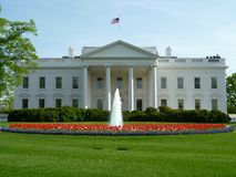 April Spring at the White House Royalty Free Stock Photography