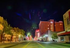 April 2015 - straten van amarillo Texas Stock Fotografie