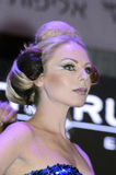 April 27-Tel Aviv ISRAEL -Portrait of a beautiful blonde-Model-OMC Cosmo beauty, 2015, Israel Royalty Free Stock Image