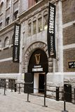 Entrance to Guinness Storehouse, the brewery experience telling the tale of Ireland`s famous beer on St James`s Gate. April 12th, 2018, Dublin, Ireland Stock Photography