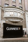 Gate at Guinness Storehouse, the brewery experience telling the tale of Ireland`s famous beer on St James`s Gate. April 12th, 2018, Dublin, Ireland - gate at Stock Images