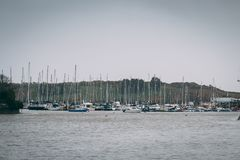 Kinsale marina in county Cork, Ireland royalty free stock photo