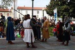 11/15 April 2019 - 400. upplaga av 'den Fiera dellen Palme 'Melzo Italien royaltyfri fotografi