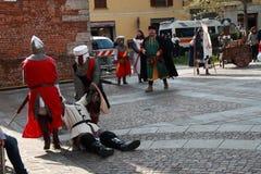 11/15 April 2019 - 400. upplaga av 'den Fiera dellen Palme 'Melzo Italien arkivfoton