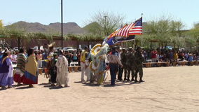 April 5, 2014, USA,  Ft Mcdowell Arizona Pow Wow, editorial Stock Photo