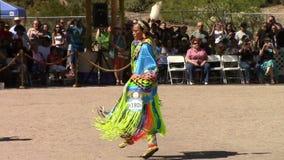 April 5, 2014, USA, Ft Mcdowell Arizona Pow Wow, editorial stock video