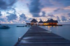 April 2015 van de Maldiven Kani Island Stock Foto's