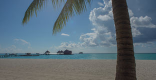 April 2015 van de Maldiven Kani Island Royalty-vrije Stock Fotografie