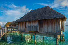 April 2015 van de Maldiven Kani Island Stock Foto