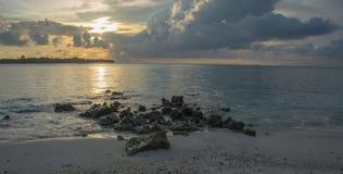 April 2015 van de Maldiven Kani Island Royalty-vrije Stock Foto's