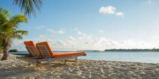 April 2015 van de Maldiven Kani Island Royalty-vrije Stock Foto