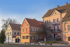 4 april, 2014 Wit-Rusland, Minsk, Drievuldigheidsvoorstad Royalty-vrije Stock Afbeeldingen