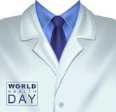 7 April World Health Day Cappotto bianco dei medici Fotografia Stock