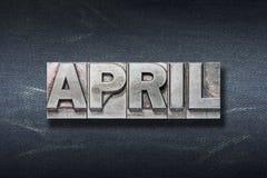 April-Worthöhle Stockbild