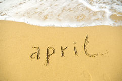 April Royalty Free Stock Images