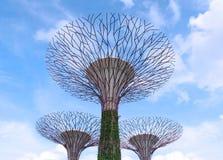 6 aprile 2014: Giardini dalla baia Singapore Fotografia Stock