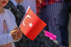 23 aprile giorno del ` s dei bambini dalla Turchia Immagini Stock