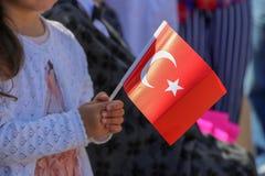23 aprile giorno del ` s dei bambini dalla Turchia Fotografia Stock
