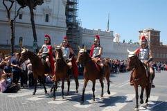 21 aprile 2014, il compleanno di Roma Fotografie Stock