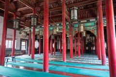 Aprile 2015 - moschea di si di Jinan, Cina - di Qingzhen a Jinan Fotografia Stock Libera da Diritti