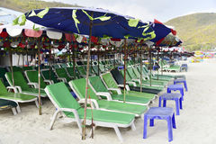 26 aprile 2016 posti turistici di Koh Larn nella città Individuato sulla t Immagini Stock Libere da Diritti