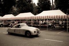 Aprilia Aerodinamica på Bergamo den historiska granda prixen 2015 Royaltyfria Foton
