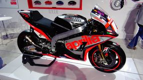 Aprilia motocykl fotografia royalty free