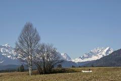 Apring σε Oberland Στοκ Φωτογραφίες