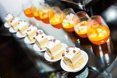 Apéritif de dessert thaïlandais Images libres de droits