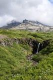Aproaching το ηφαίστειο Στοκ Φωτογραφία