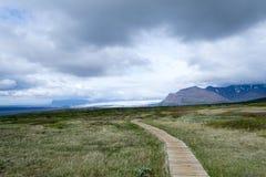 Aproaching το ηφαίστειο Στοκ φωτογραφία με δικαίωμα ελεύθερης χρήσης
