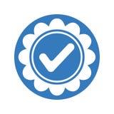 Aprobado, checkedmark, concedido el icono ilustración del vector