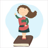 Aprobar el examen Buena marca stock de ilustración