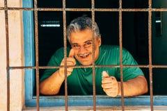 Aprobaty dla kamery w Hawańskim, Kuba obrazy stock