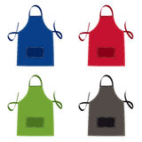Apron collection Stock Images
