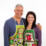 Apron couple Stock Photography