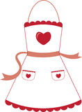 Apron Love Royalty Free Stock Photo