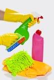 Apronte à limpeza Foto de Stock