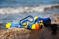 Apronte para 01 snorkeling Imagens de Stock