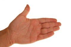 Apronte para a agitação da mão Imagens de Stock Royalty Free