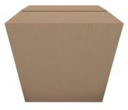 Apronte para enviar a ordem de envio pelo correio do pacote da caixa de cartão no estoque Fotografia de Stock