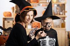 Apronte para Halloween Imagens de Stock Royalty Free